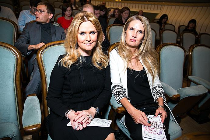 Наталья Шкулева и Светлана Фландинэт
