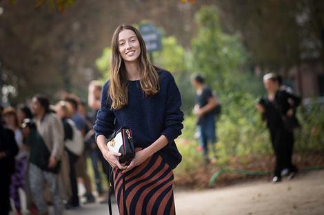 Неделя моды в Париже: street style