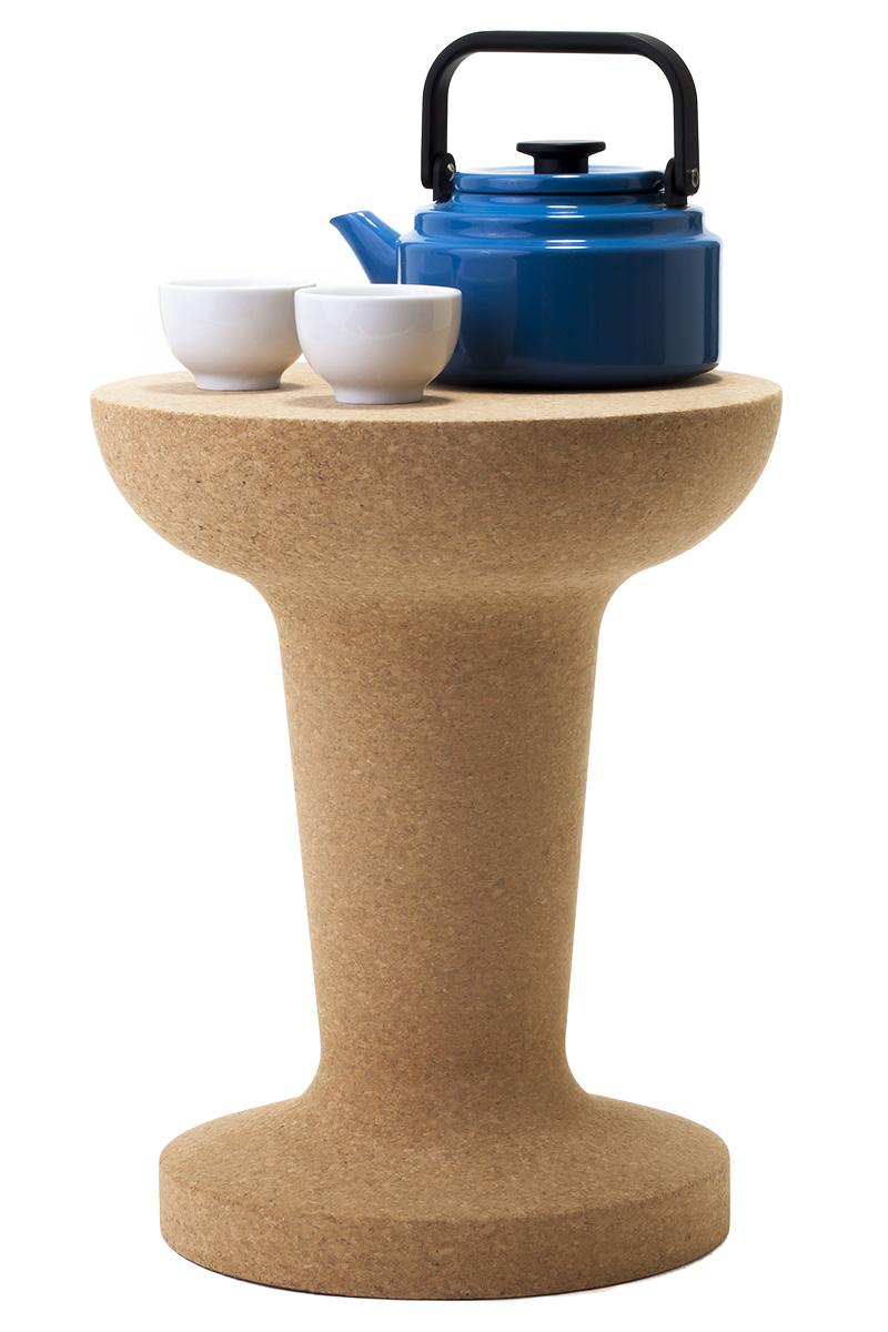 Табурет-столик Pushpin, дизайн Кеньона Йе для Esaila, www.esaila.com