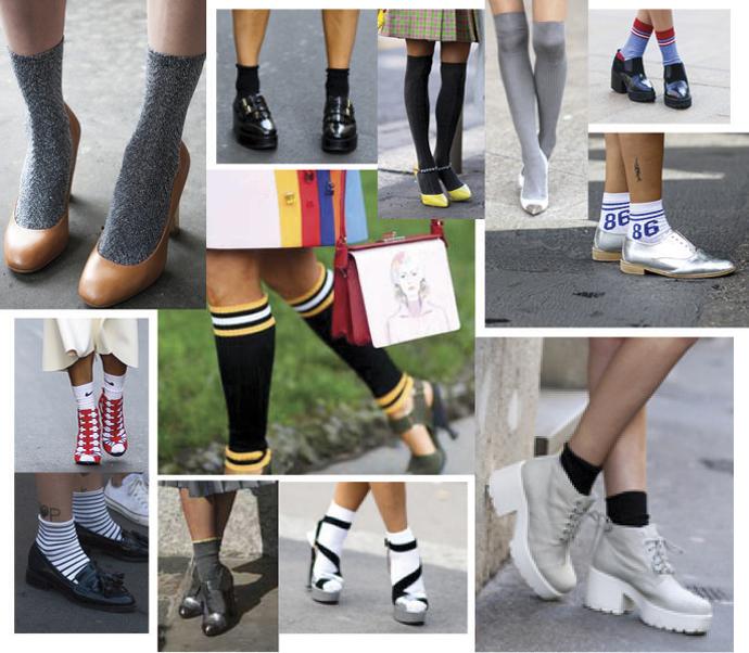Носки и гольфы как правильно носить колготки