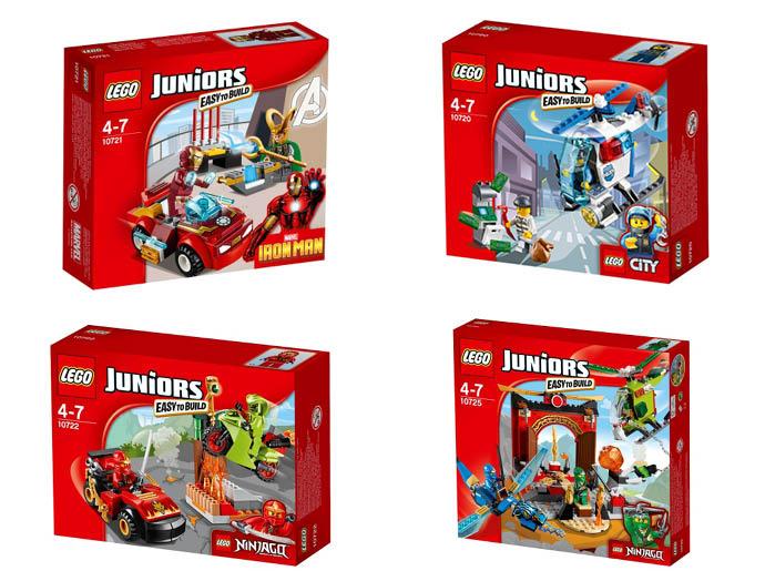 LEGO Juniors для мальчиков