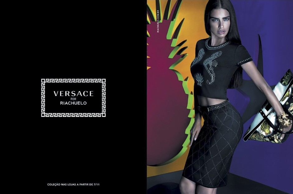 Коллекция Versace для Riachuelo