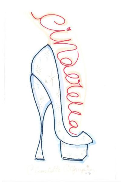 Известные дизайнеры обуви представили свои версии туфель Золушки   галерея [1] фото [8]