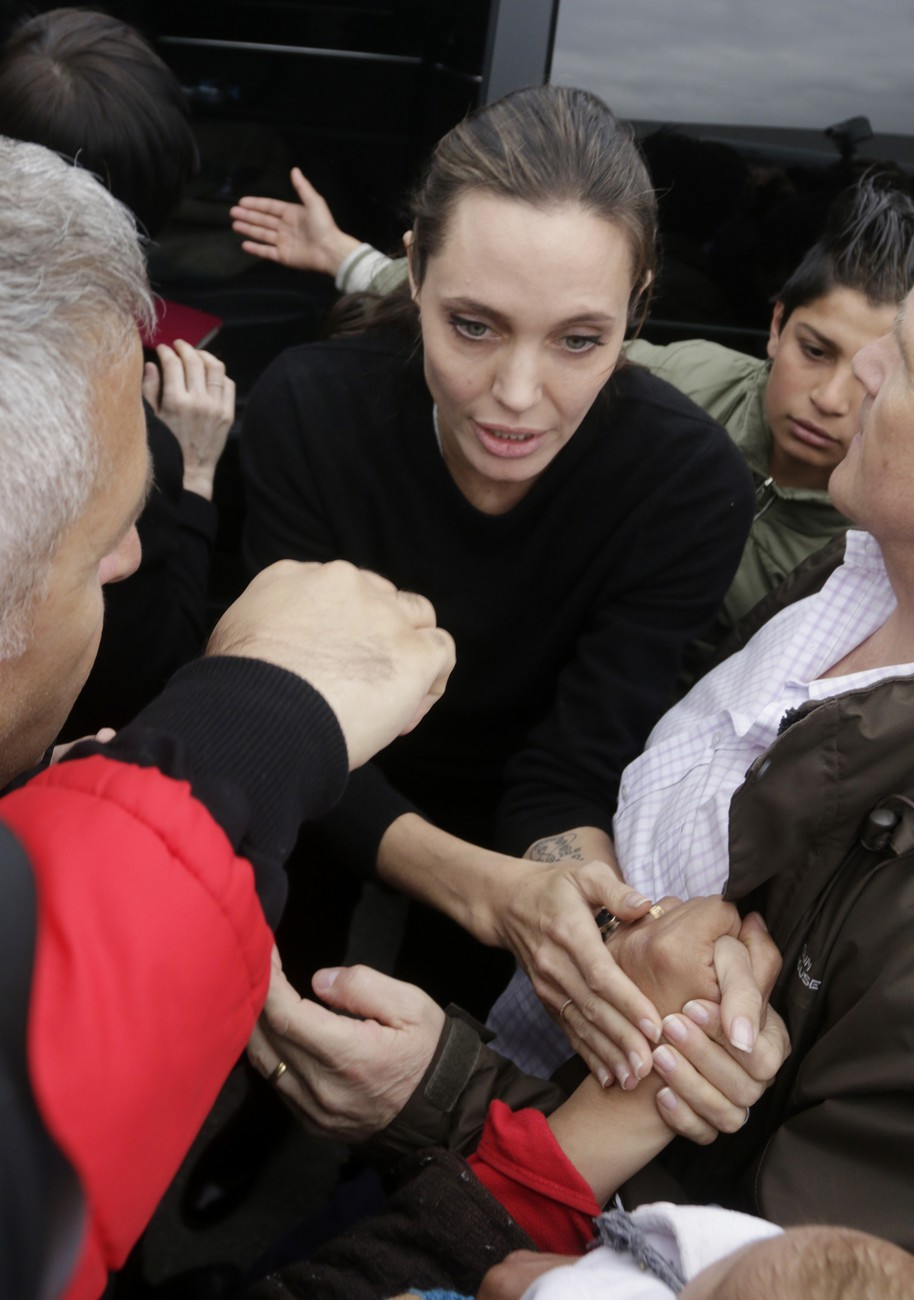 Анджелина Джоли оказалась на грани истощения