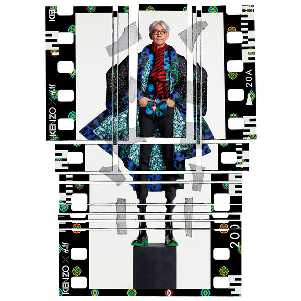 Сезон охоты: как выглядит полный лукбук Kenzo x H&M | галерея [1] фото [2]