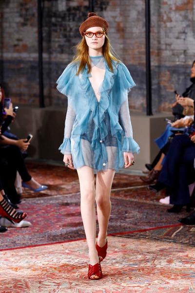 Дом Gucci представил новую круизную коллекцию 2016 | галерея [2] фото [45]