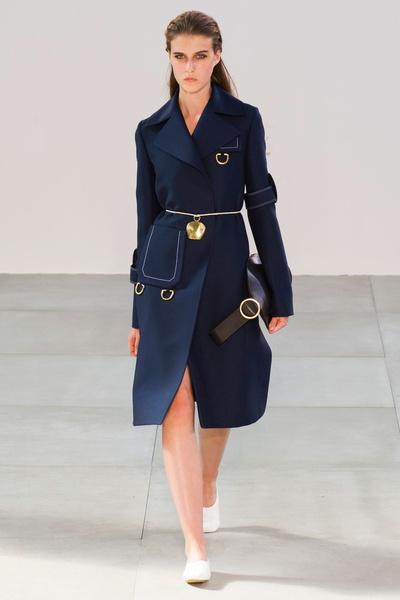 Показ Celine на Неделе моды в Париже