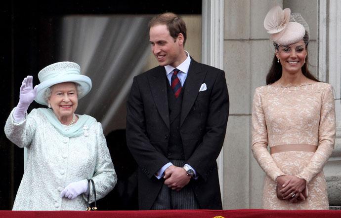 Елизаветы II и Уильям