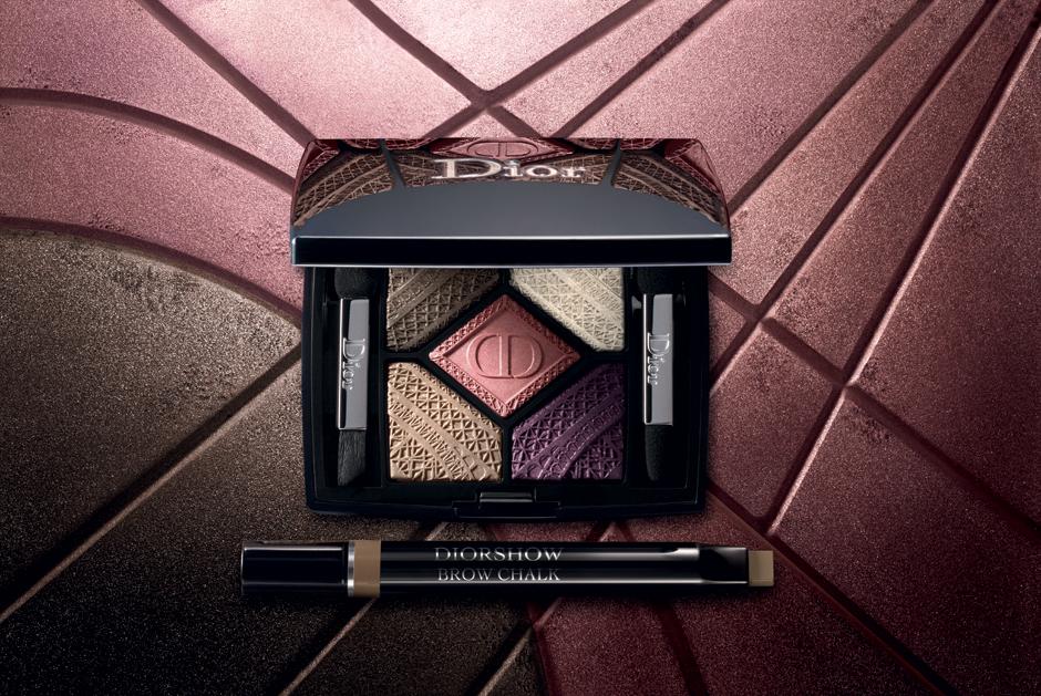 1. Dior 5 Couleurs Capital of Light; 2. Diorshow Brow Chalk