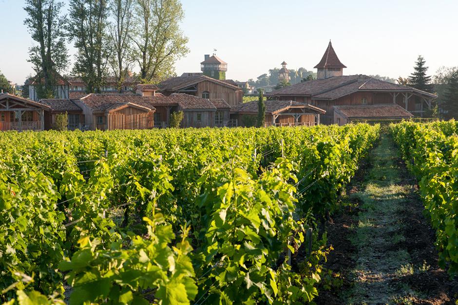 Les Sources de Caudalie, Франция