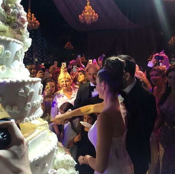 Свадебный торт Вики Крутой