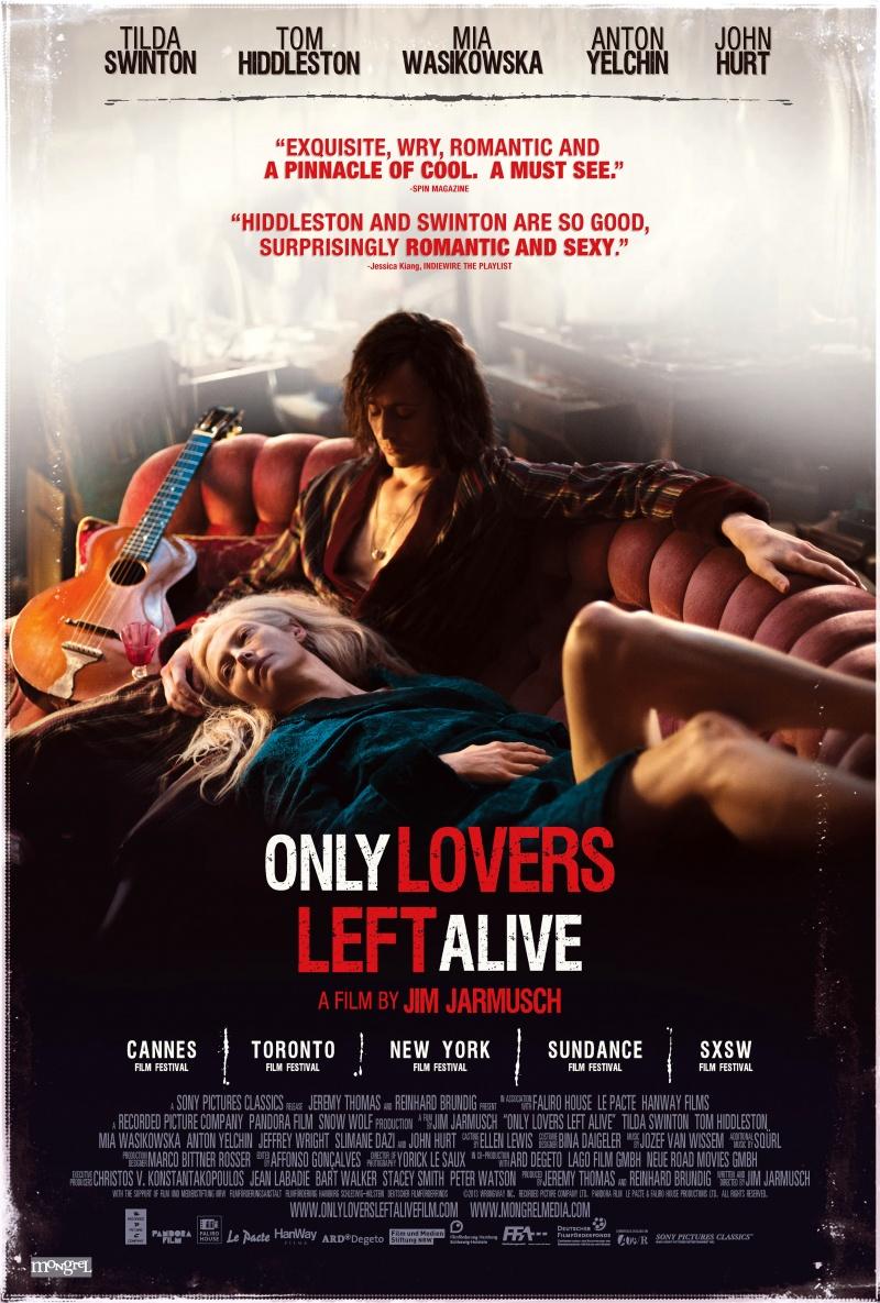 №6. «Выживут только любовники» (Only Lovers Left Alive), 2013