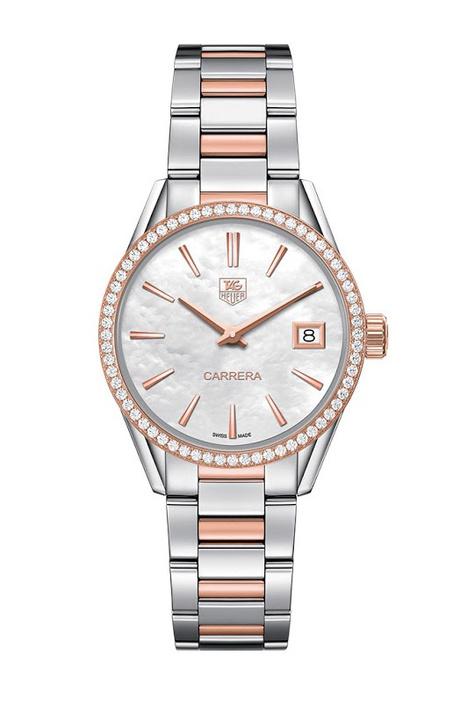 Новая коллекция часов Carrera Lady от TAG Heuer