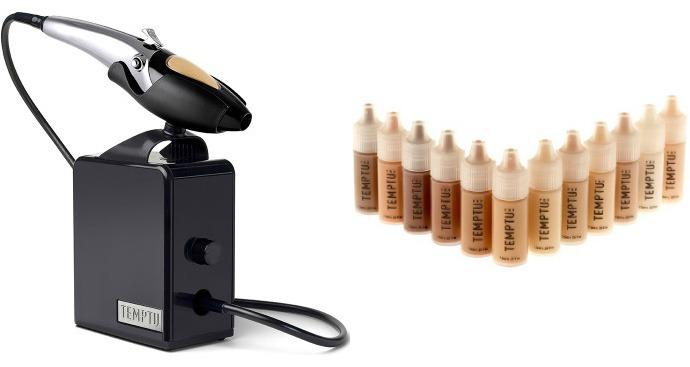 Must-haves: аэрограф AIRbrush Makeup System 2.0, тональное средство S/B Foundation