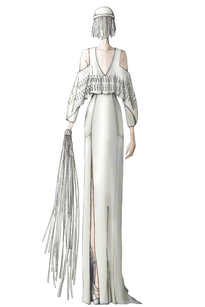 Свадебное платье Леди Гага от Rebecca Minkoff