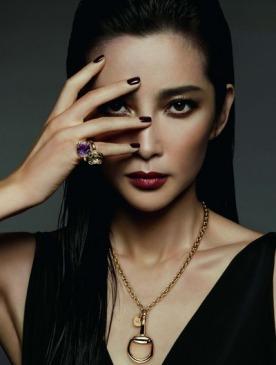 Ли Бин Бин в рекламной кампании Gucci
