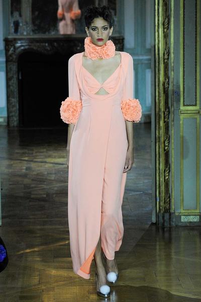 Показ Ulyana Sergeenko на Неделе высокой моды | галерея [1] фото [3]