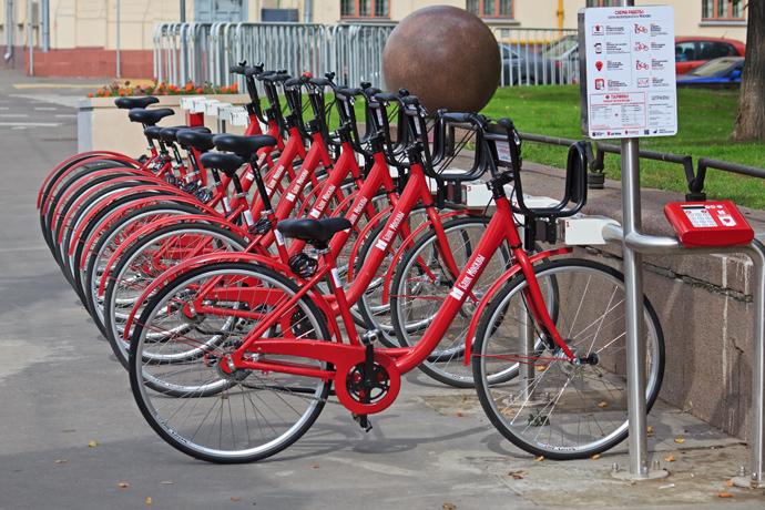 Москва велодорожки