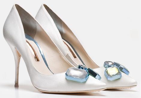София Вебстер представила дебютную коллекцию свадебной обуви | галерея [2] фото [6]