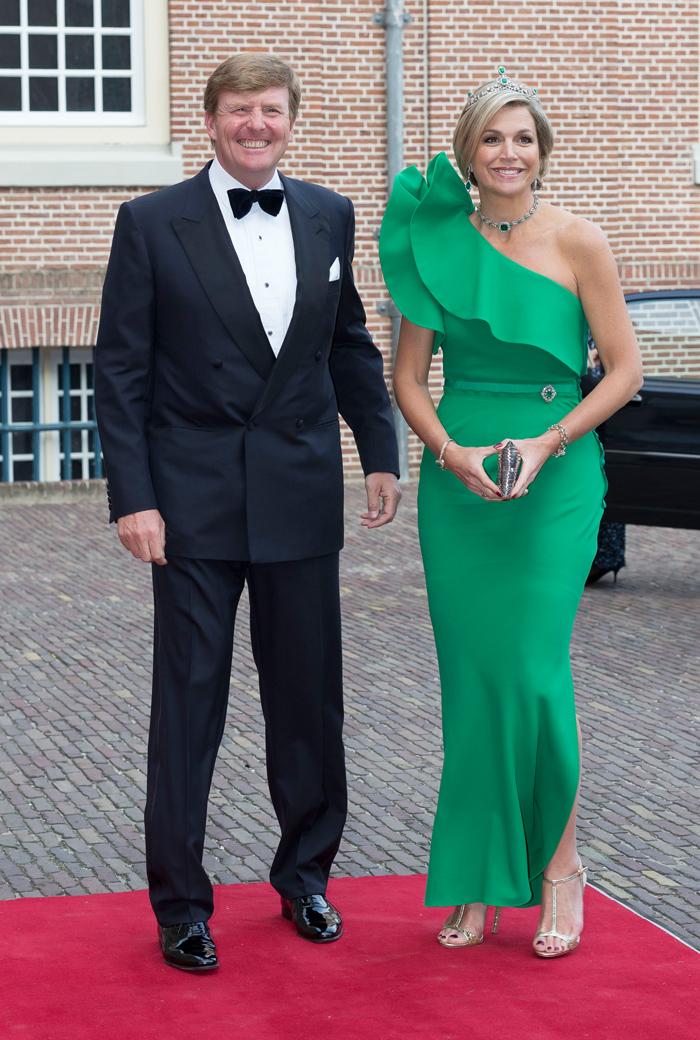 Королева Нидерландов Максима с мужем