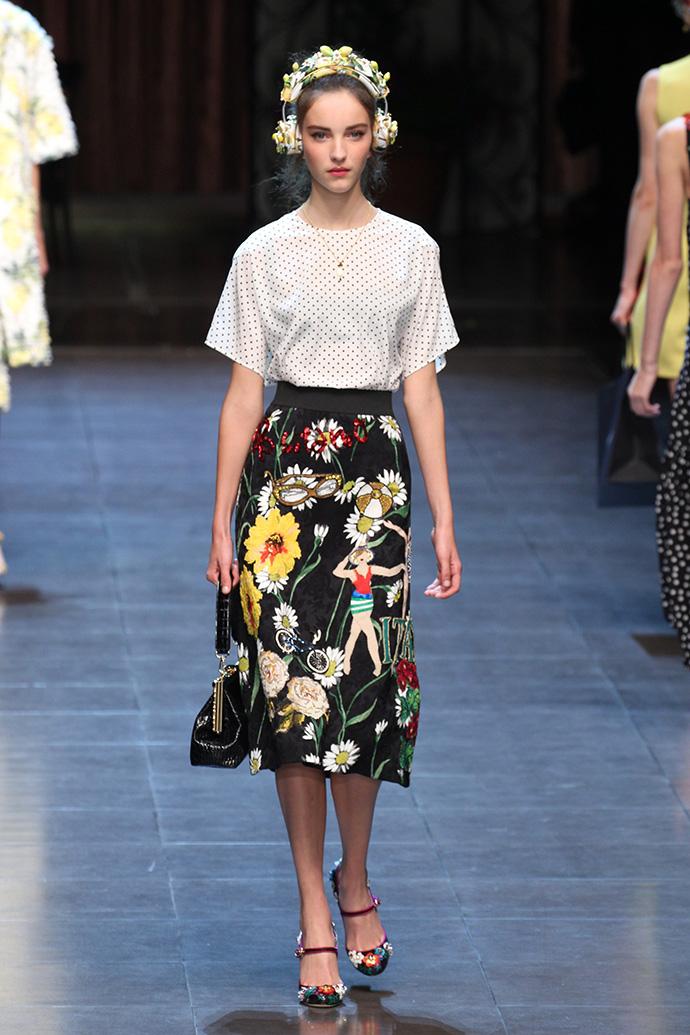 Dolce & Gabbana, весна-лето 2016