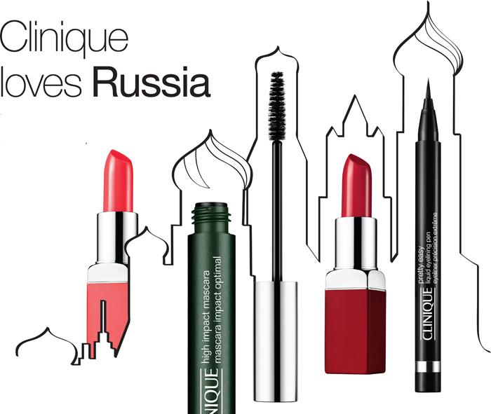 Встреча с экспертом по макияжу Clinique в Петербурге