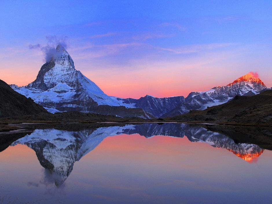 Гора Маттерхорн, Церматт, Швейцария