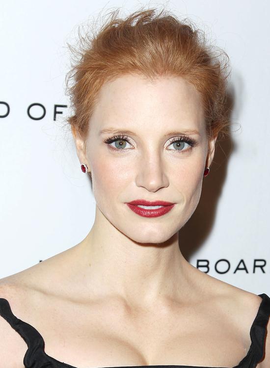 Январь 2012, премия Национального совета кинокритиков США, Нью-Йорк Джессика Честейн