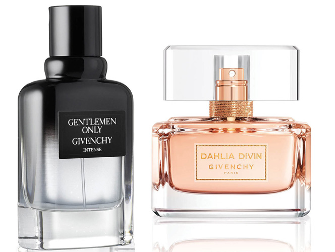Dahlia Divin и Gentlemen Only Intense Givenchy