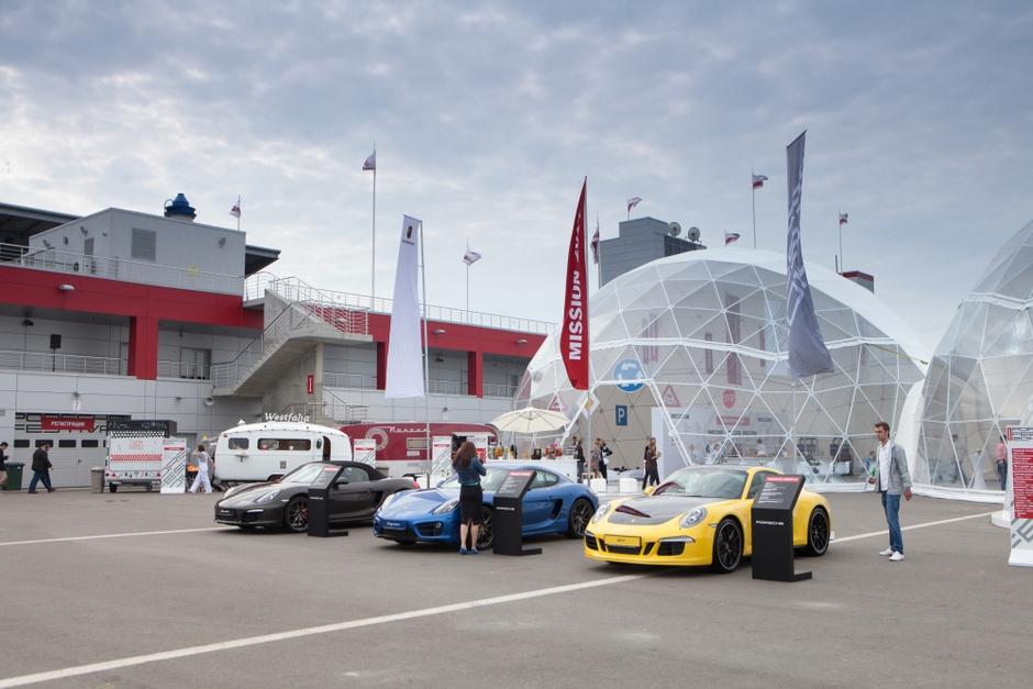 Новые модели Porsche