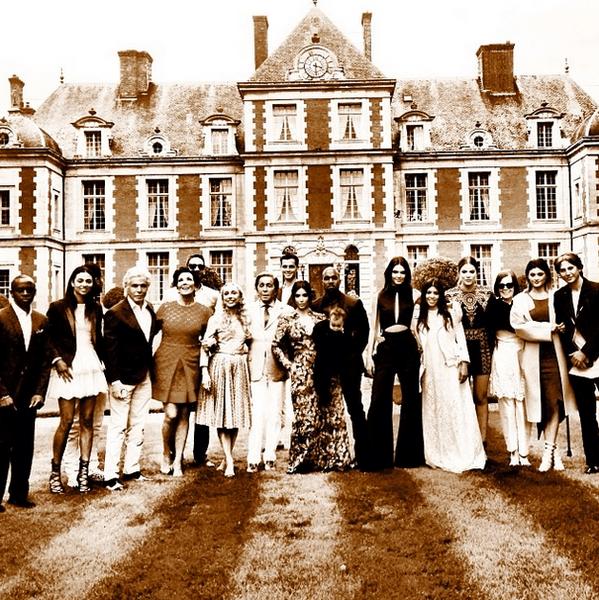 Гости со свадьбы Ким Кардашьян и Канье Уэста