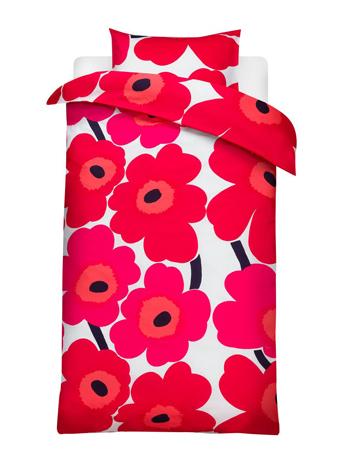 Marimekko, постельное белье, дизайн, Unikko