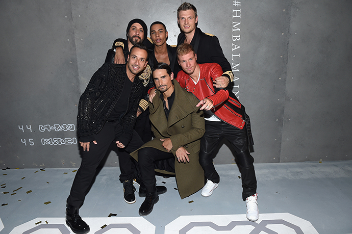 Оливье Рустен и The Backstreet Boys