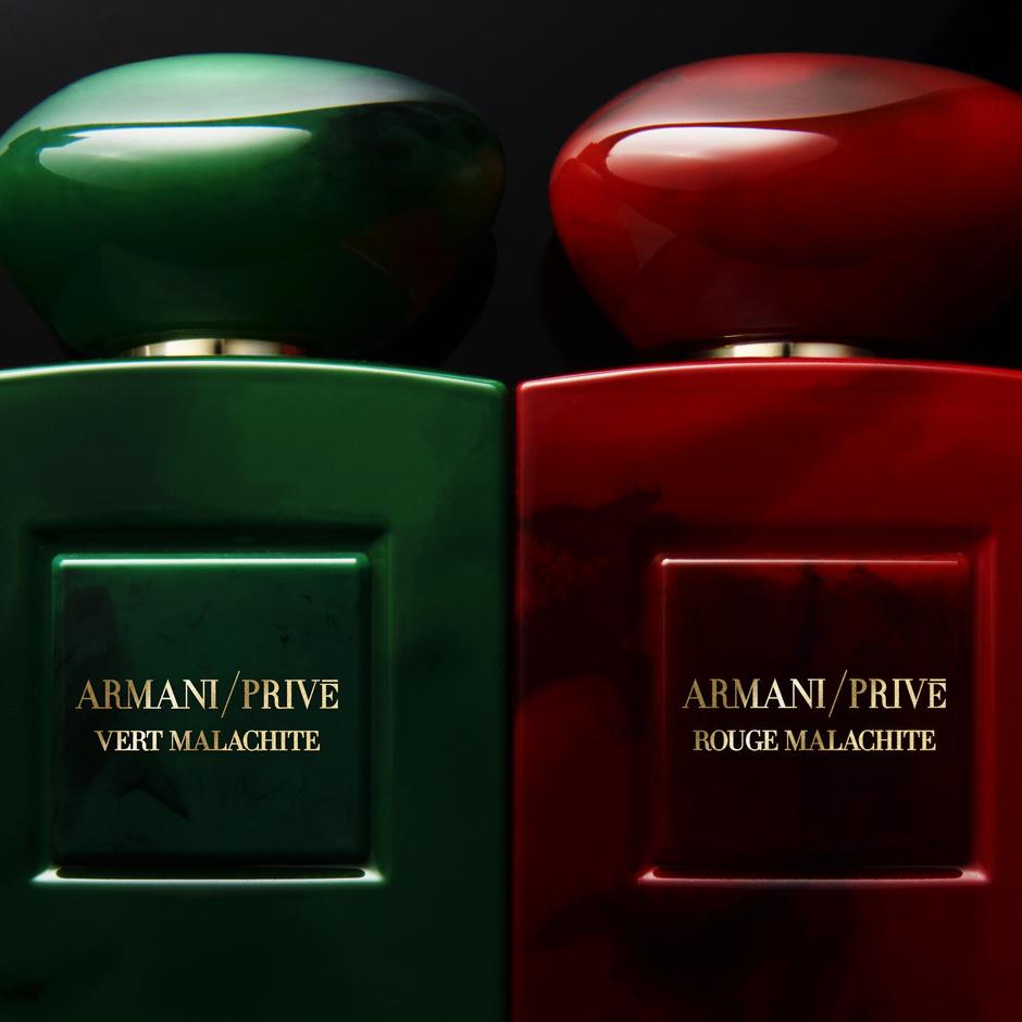 В Москве представят аромат Armani/Privé Rouge Malachite