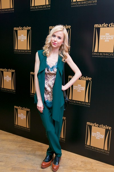 Marie Claire вручил премию в области красоты Prix d'Excellence de la Beauté 2016 | галерея [1] фото [12]