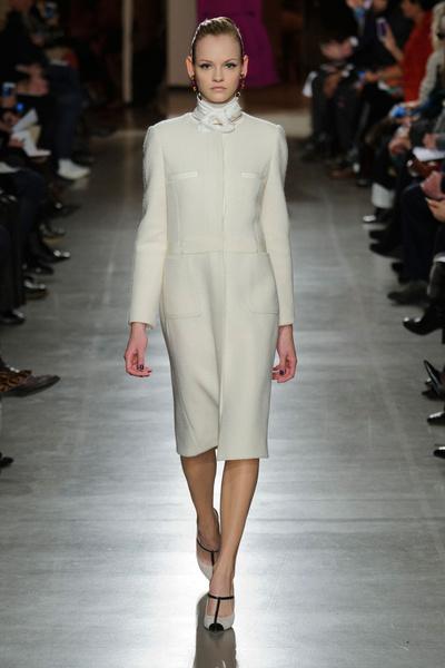 Показ Oscar de la Renta на Неделе моды в Нью-Йорке | галерея [1] фото [31]