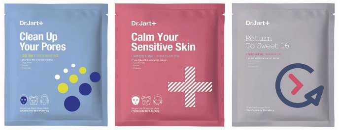 Тканевые маски Dermask от Dr. Jart+