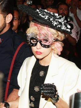 Lady Gaga на показе Марка Джейкобса