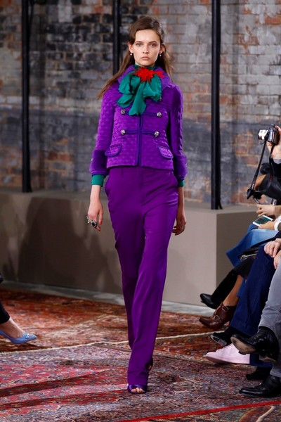 Дом Gucci представил новую круизную коллекцию 2016 | галерея [2] фото [22]