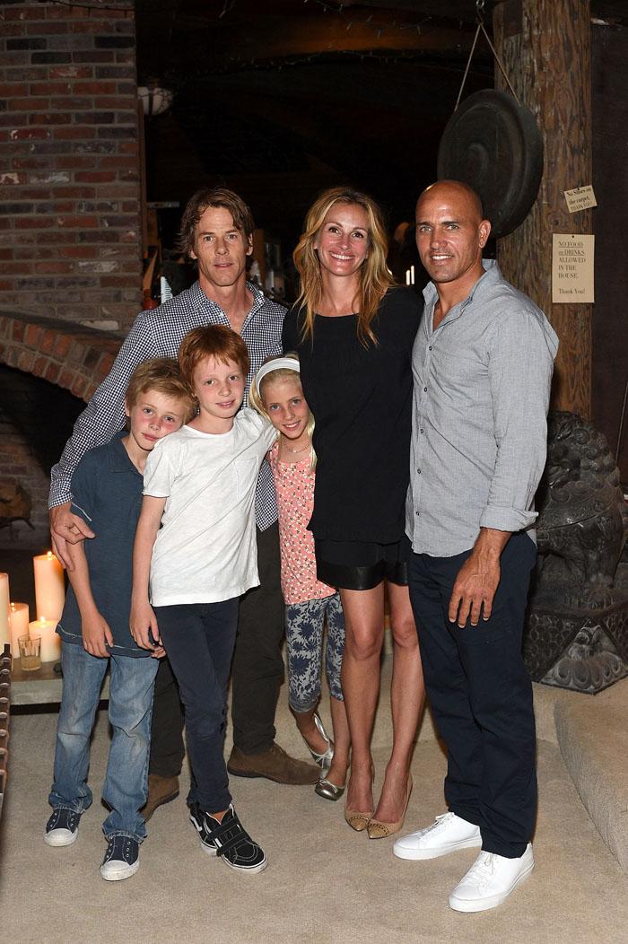 Джулия Робертс с мужем и детьми: фото 2015