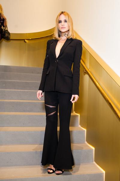 Селебрити на презентации осенней коллекции Versace | галерея [1] фото [2]