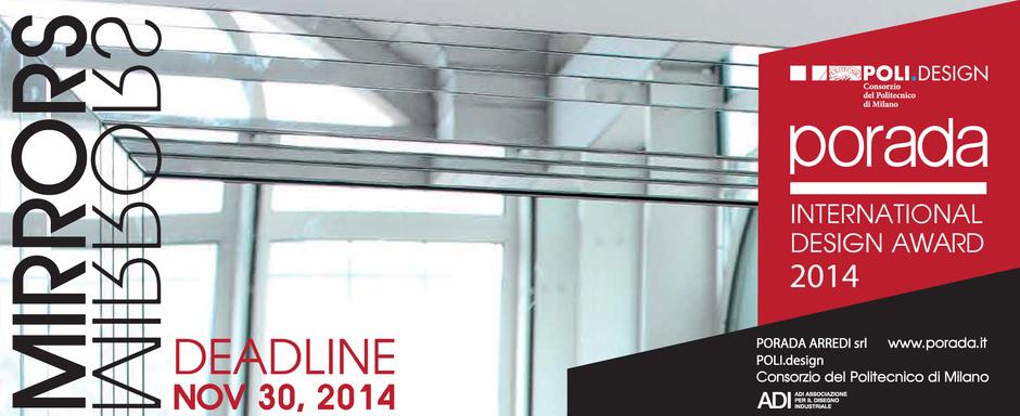 Международная премия в области дизайна PORADA INTERNATIONAL DESIGN AWARD 2014