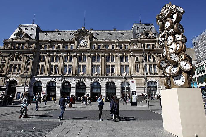 Парижский вокзал