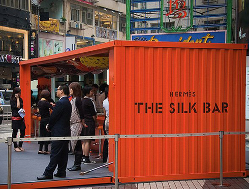 Hermes Silk bar