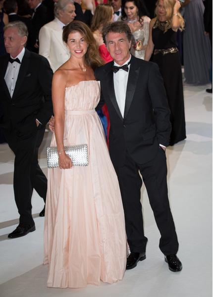 Франсуа Клюзе с женой