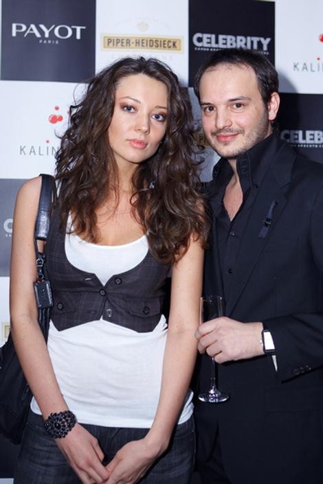Певица Рене и Роман Кадария
