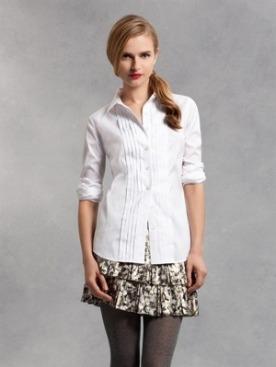 классическая белая рубашка от DKNY и Thomas Pink