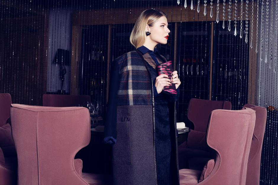 Пальто, платье - Daria Bardeeva