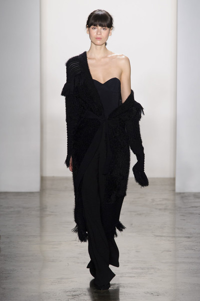 Самые красивые образы Недели моды в Нью-Йорке | галерея [1] фото [39]