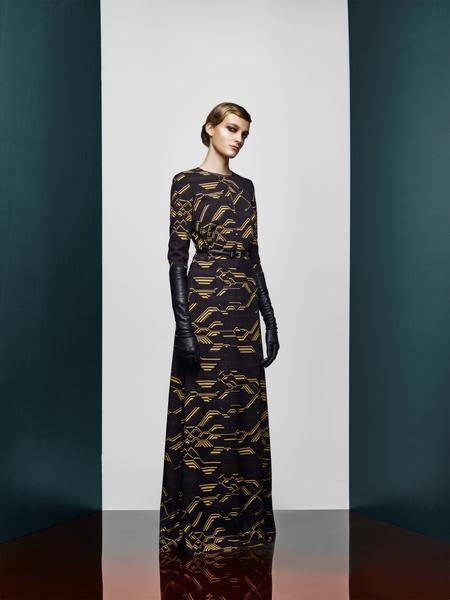 Хозяйка Медной горы: новая pre-fall коллекция A LA RUSSE Anastasia Romantsova | галерея [2] фото [25]